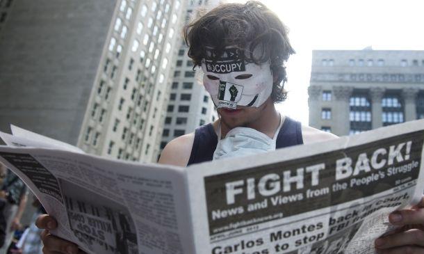 «جنبش تسخیر» ادبیات سیاسی آمریکا را تغییر داد
