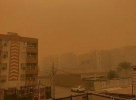 هجوم ریزگردهای داخلی به خوزستان
