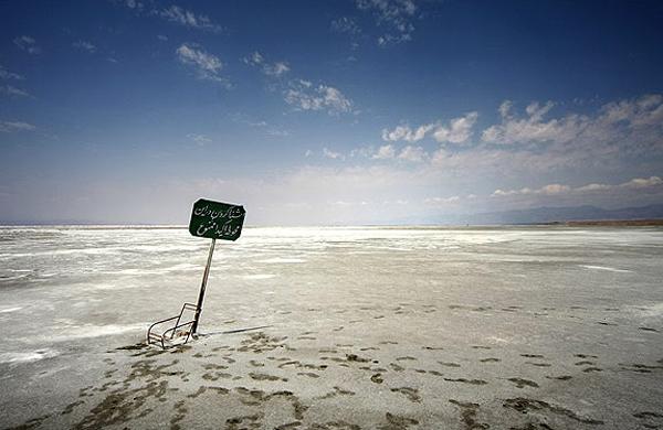 فقط ۵درصد از دریاچه ارومیه باقی مانده است