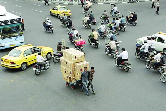 تولید آلودگی ۱۱ میلیون موتورسیکلت به اندازه ۵۵ میلیون خودرو