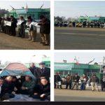 ادامه تجمع ۳۸ روزه در مهاباد، تجمع در اصفهان، کرج و دزفول