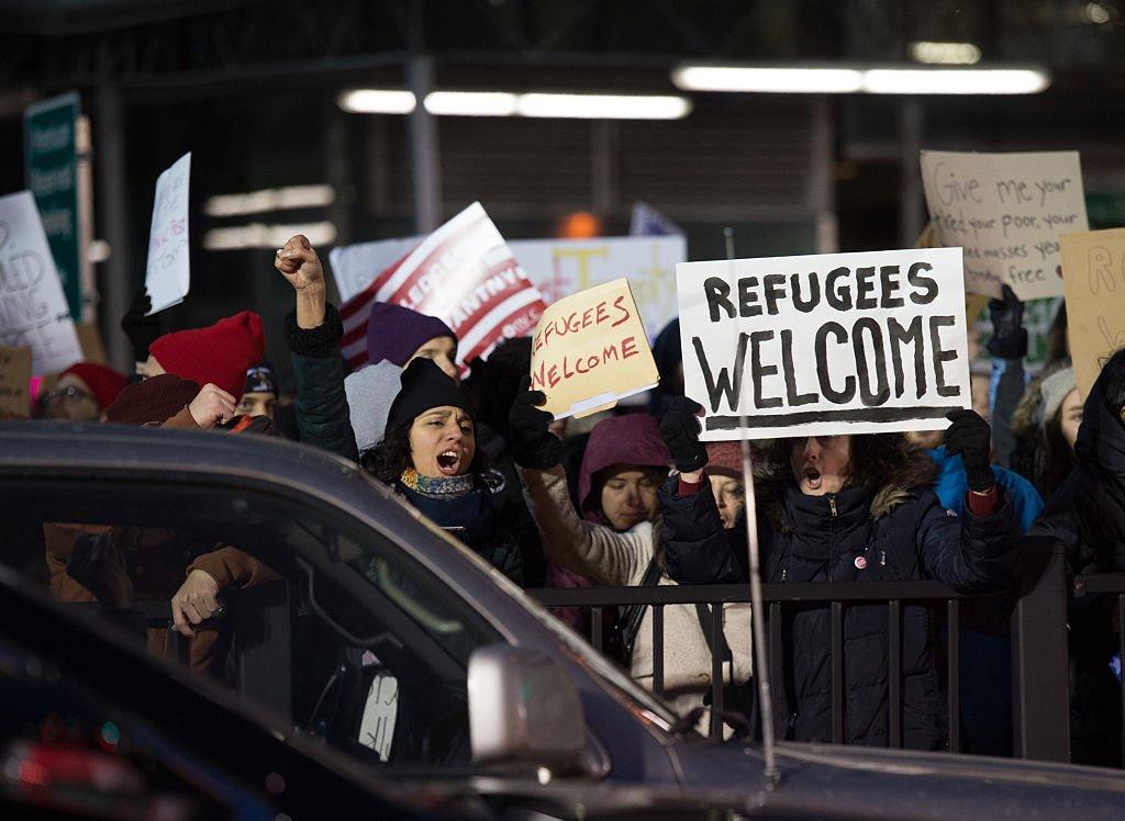 اعتراض آمریکاییها به حکم مهاجرستیزانه ترامپ
