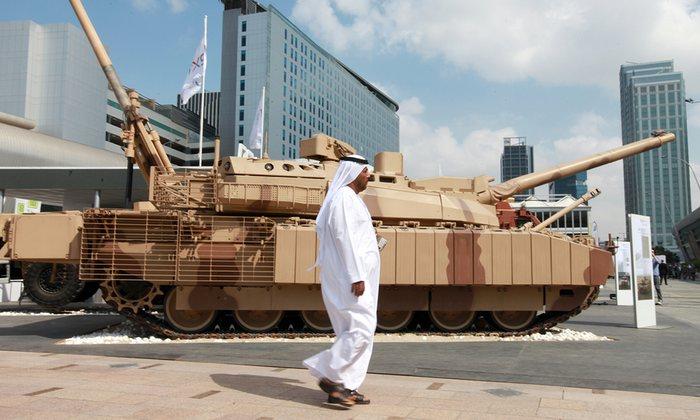 دو برابر شدن خرید سلاح در خاورمیانه در پنج سال گذشته