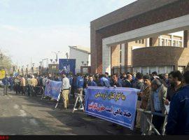 اعتصاب یک هفتهای ۴هزار کارگر فولاد اهواز