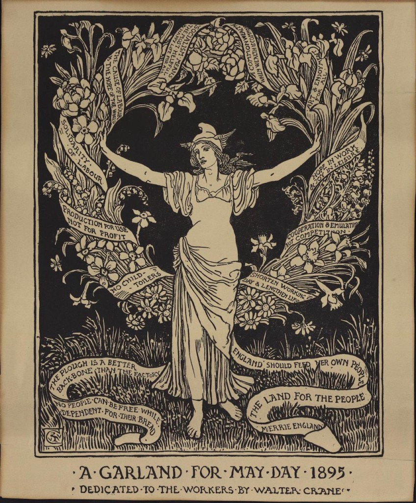 تاج گلی برای روز کارگر ۱۸۹۵