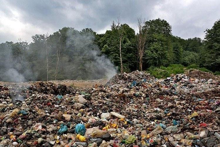 آلودگی آب استانهای شمالی به علت دفن زباله در جنگل
