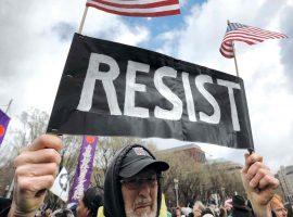 پیوستن «روبات مقاومت» به مخالفان ترامپ