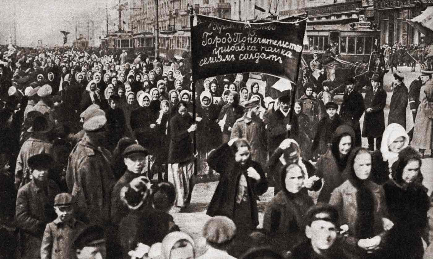 اعتراض زنانی که آتش انقلاب روسیه را برافروخت