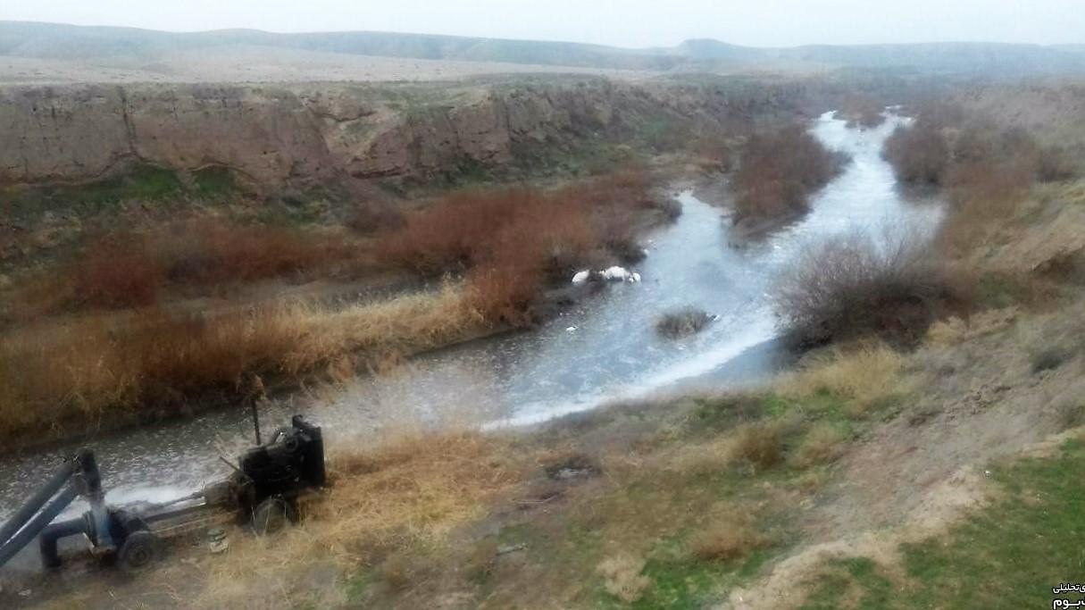 آبیاری ۲هزار هکتار زمین کشاورزی با فاضلاب در مشهد