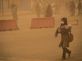 غلظت ریزگردها در خوزستان به ۶ برابر حد مجاز رسید