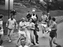 ماراتن بوستون میزبان دوباره «زن قانونشکن»