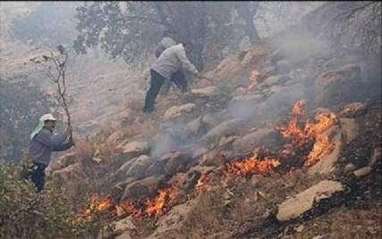 آتشسوزی در جنگلهای آشوراده