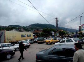 کارگران در تجمع اعتراضی محور سوادکوه را مسدود کردند