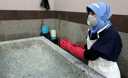 انتقاد غسالان از صدور حکم تنبیهی برای کار در غسالخانه