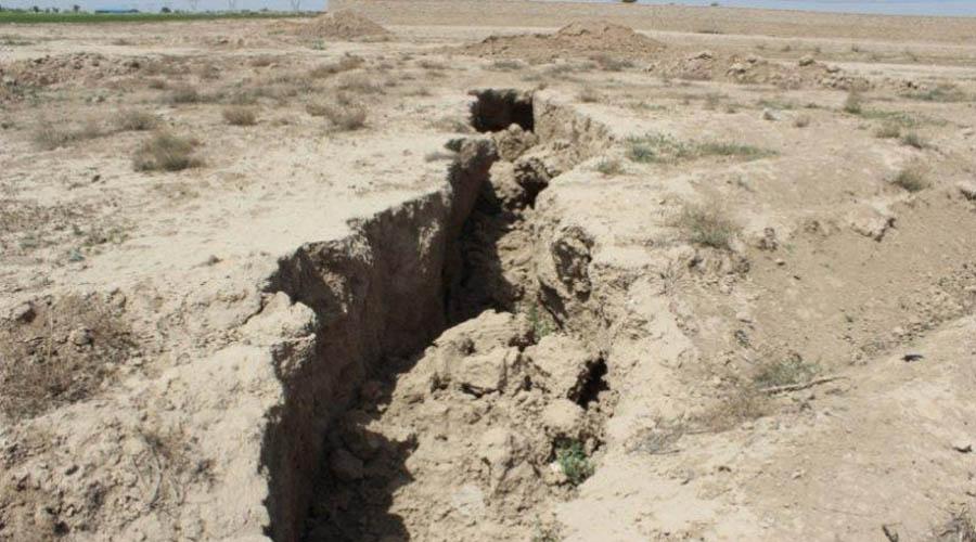 فرونشست زمین در تهران ۹۰برابر استانداردهاست