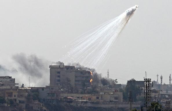 استفاده نیروهای ائتلاف از فسفرسفید در سوریه و عراق