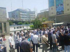 تجمع کارکنان شرکت بهرهبرداری مترو تهران