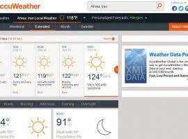 دمای هوای اهواز به ۵۱درجه سانتیگراد میرسد