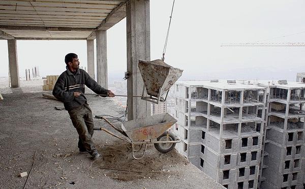 از نیمه ۹۴تاکنون هیچ کارگر ساختمانی جدیدی بیمه نشده