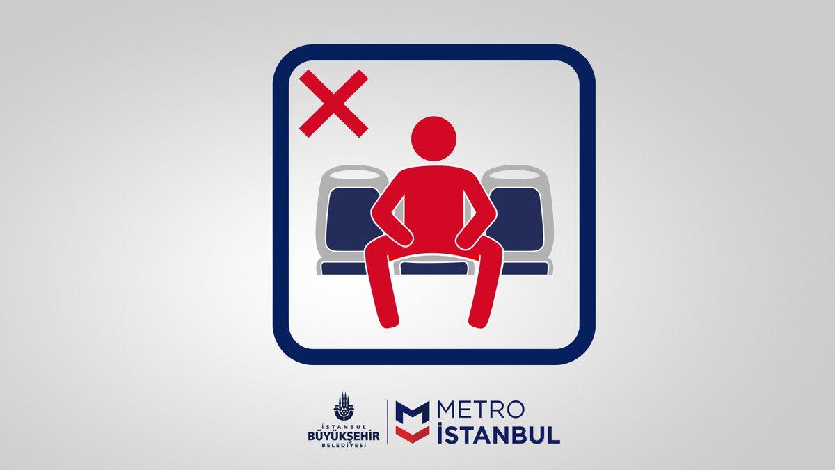 هشدار متروی استانبول به مردان: «گشادنشستن ممنوع»
