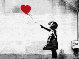 گرافیتی بنکسی محبوبترین اثر هنری ملی در بریتانیا