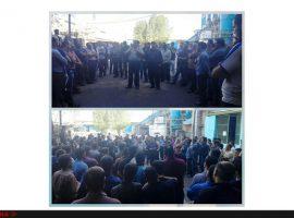 بازداشت ۱۵کارگر معترض مجتمع نیشکر هفتتپه