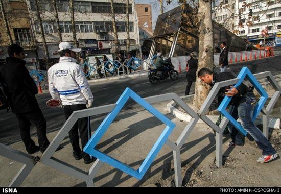 برگزاری رویداد شهر بدون مانع در چهارراه ولیعصر