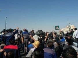 تجمع گسترده کارگران آذر آب و هپکو در اراک