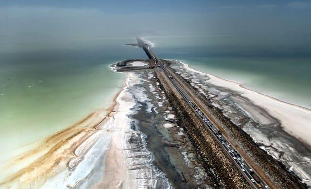 افت تراز دریاچه ارومیه بهرغم افزایش ۸ تا ۱۰ برابری میزان بارشها
