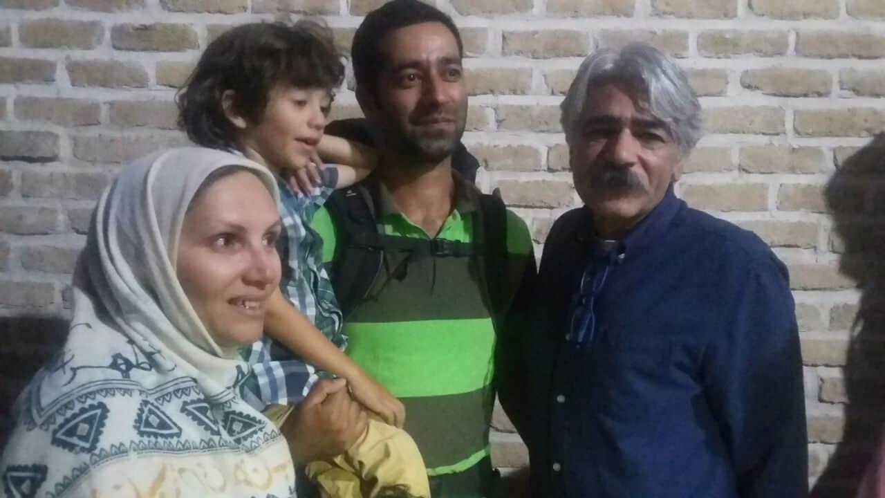 قدردانی کلهر و علیزاده از سفر اعتراضآمیز خانواده مشهدی