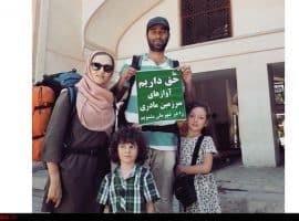 پیادهروی خانواده مشهدی در اعتراض به لغو کنسرتها