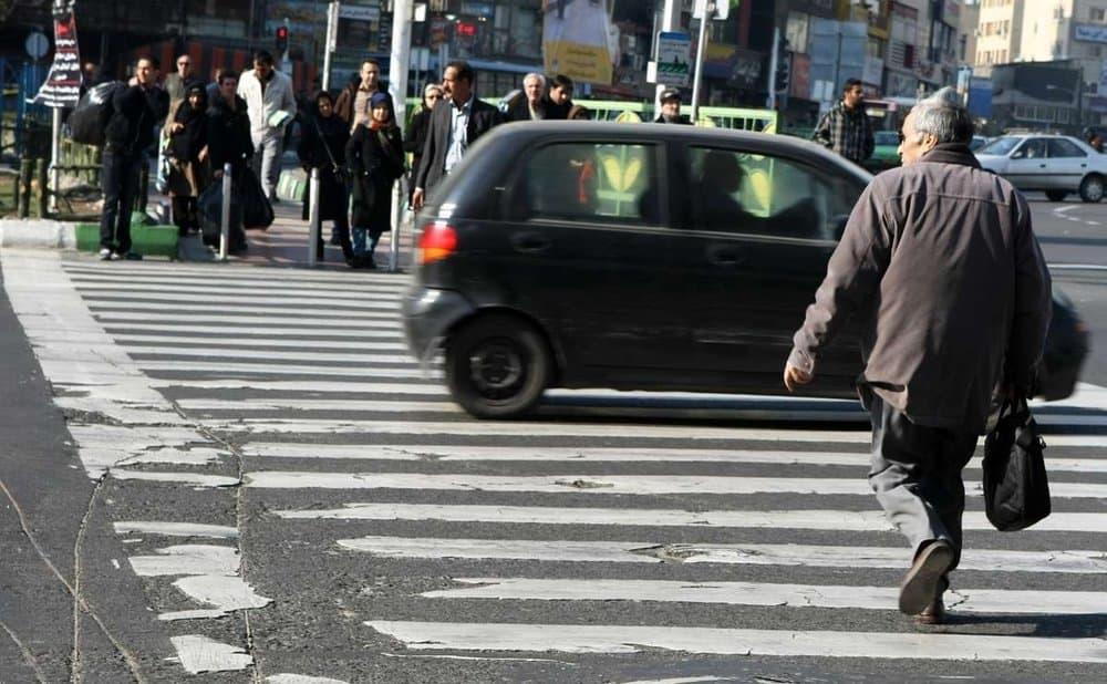 پیادهها قربانی ۶۱درصد تصادفهای منجر به مرگ در تهرانند