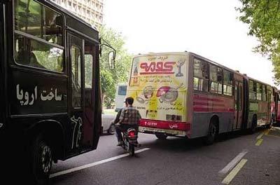 صدوربخشنامه برای اصلاح شیوه تبلیغ روی بدنه اتوبوسها