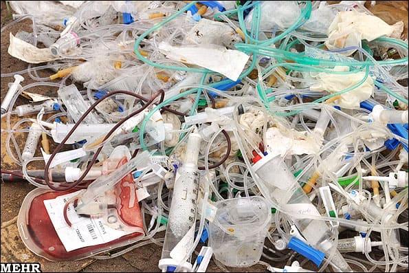 زبالههای یکپنجم بیمارستانهای تهران درست امحا نمیشود