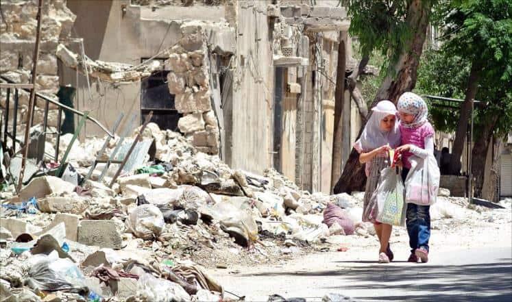 تصویر گمشده مردم سوریه