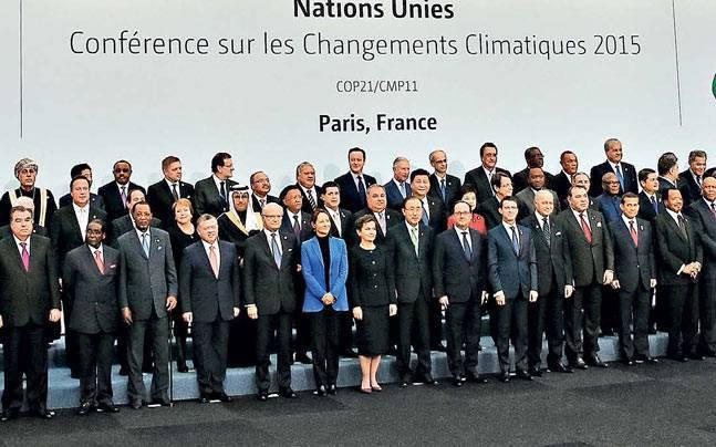 عزم جهانی برای نجات زمین