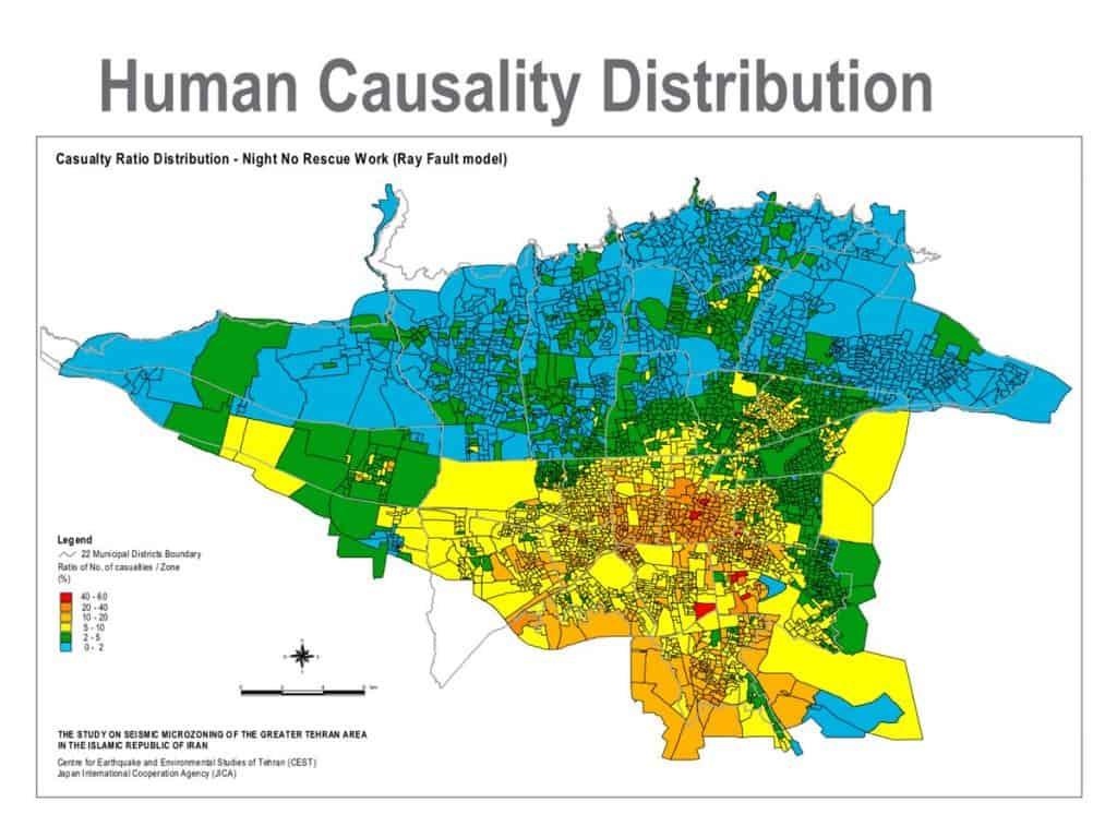 نتیجه تصویری برای زلزله تهران
