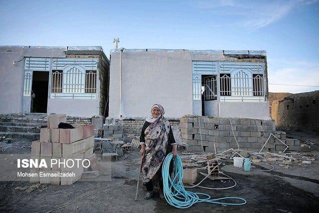 بیسرپناهی مردم سفیدسنگ ۸ماه پس از زلزله