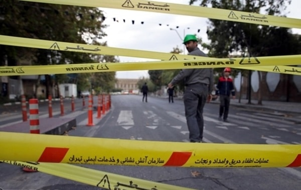 فرونشست زمین در تهران «نگرانکننده» استزمان مطالعه: ۱ دقیقه