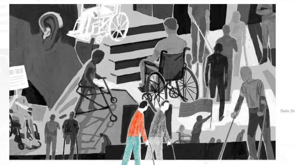 تاملاتی درباره معلولبودن