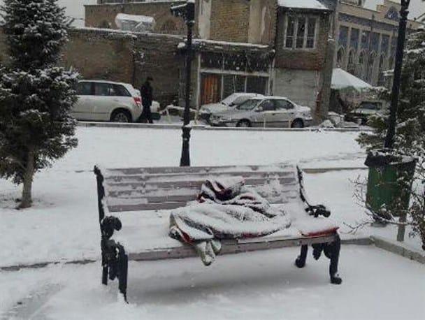 سرمازدگی ۱۴۶نفر و جانباختن یک نفر در استان تهران