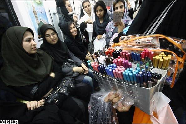 تغییرات اجتماعی جدید در بساط زنان دستفروش