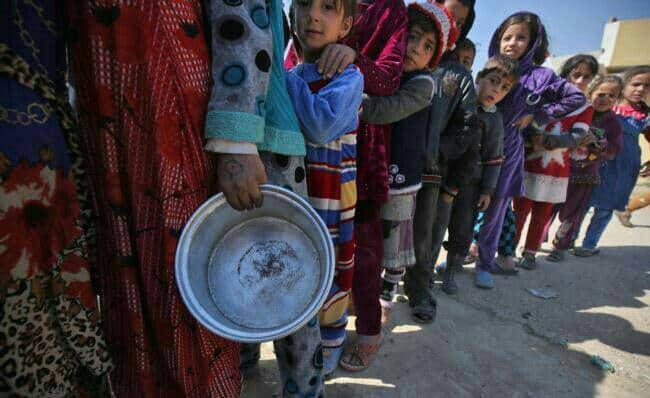 گرسنگی در ۸کشور جهان بحرانی شده است