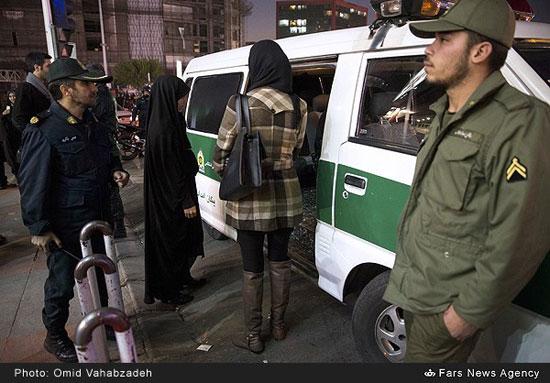 Risultati immagini per پلیس زن ایرانی حجاب اجباری