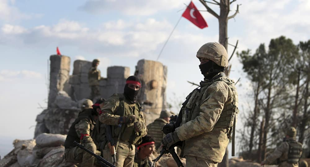 انتشار گزارشهایی از حمله شیمیایی ترکیه به عفرین