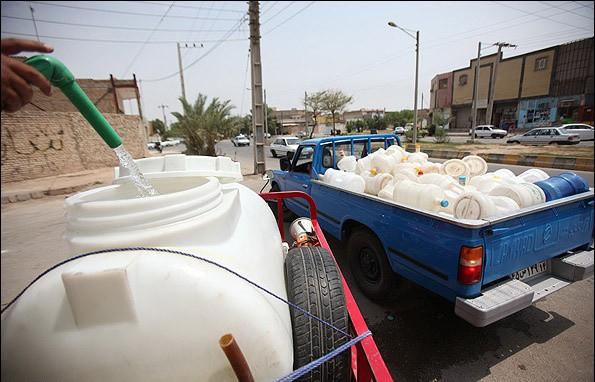 «آب اهواز در بیشتر موارد قابل شرب نیست»