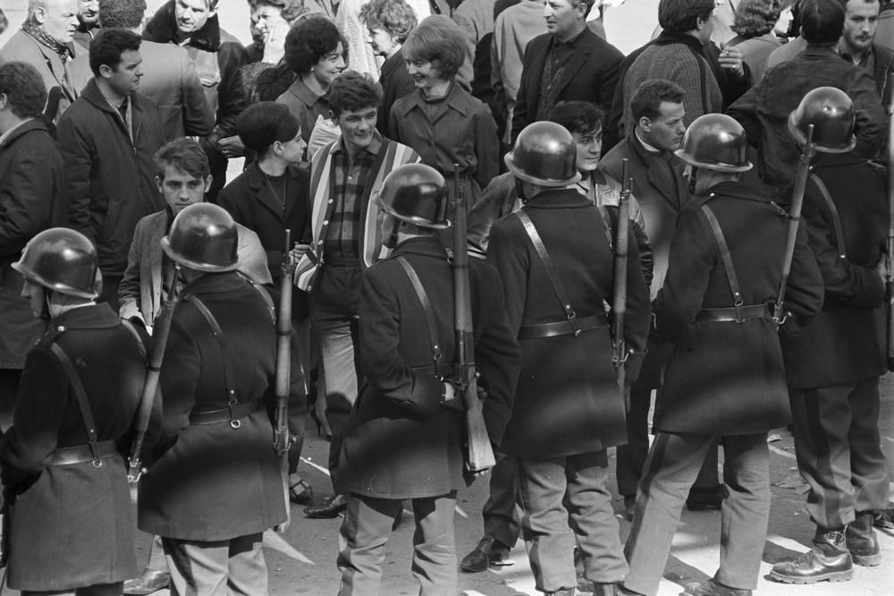 جهان در ۱۹۶۸ و می ۶۸ در فرانسه