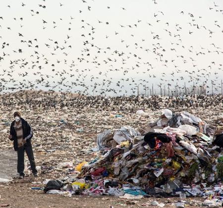 اقیانوسی از پلاستیک