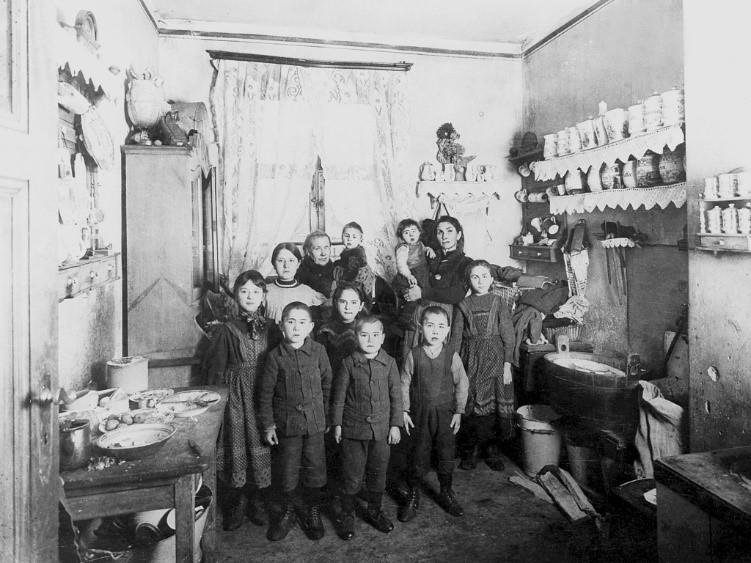 خانهی یک خانواده کارگر قبل از دوران وین سرخ