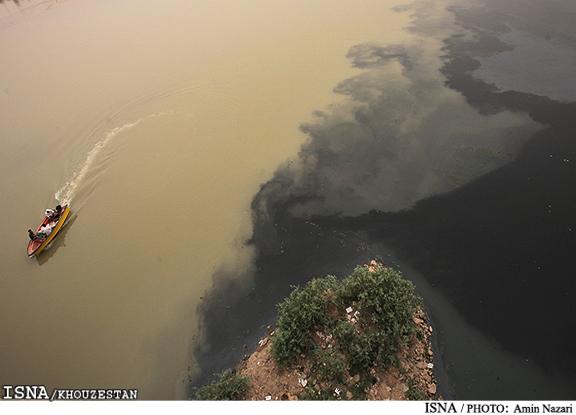 ورود سالانه ۴۵۰ میلیون متر مکعب فاضلاب به منابع آبی خوزستان